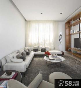 北欧家装复式小客厅效果图图片
