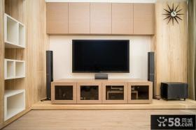 简约现代电视背景墙室内装饰设计图片
