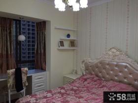 欧式小户型卧室飘窗图片欣赏