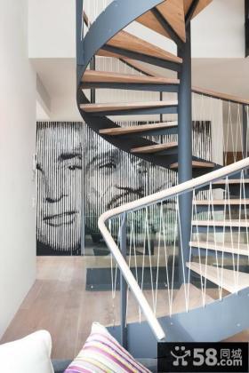 家用旋转楼梯设计图