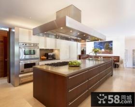 现代小清新的美式风格装修客厅图片