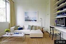 50平米小户型客厅装修效果图欣赏