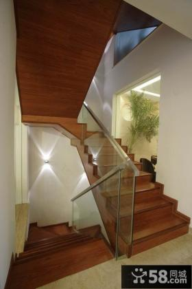 室内楼梯设计效果图欣赏