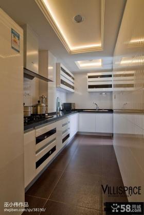 现代厨房集成吊顶效果图欣赏