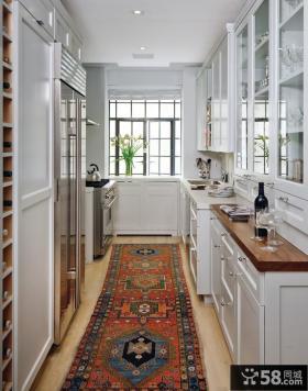 简欧风格厨房地毯贴图