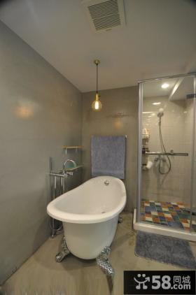 现代简约风格浴室卫生间装修图片欣赏