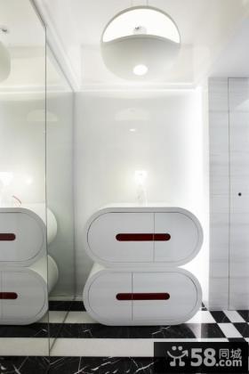 简约风格梦幻家居三室两厅设计装修效果图