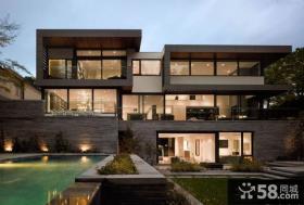 豪宅别墅景观设计图