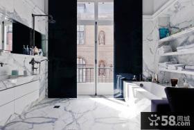 欧式大气的复式客厅装修效果图大全2012图片