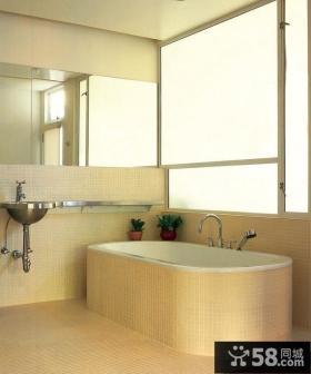 小户型家庭卫浴装修效果图