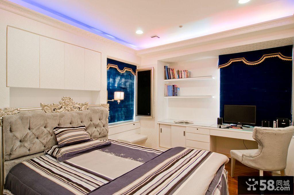 欧式卧室书房装修