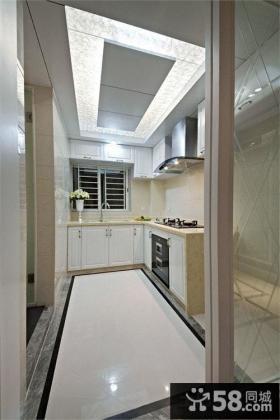 家居厨房吊顶装修效果图