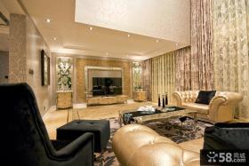 优雅精致欧式复式家居装修效果图