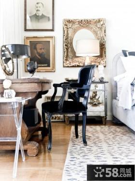 欧式古典家具卧室椅子图片欣赏