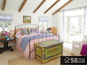 简欧风格卧室装修设计图片