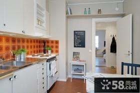 40平超小户型厨房装修效果图大全2014图片