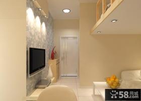 25平米小户型客厅玄关装修效果图
