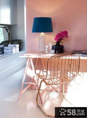 6万打造现代风格卧室二居装修效果图大全2014图片