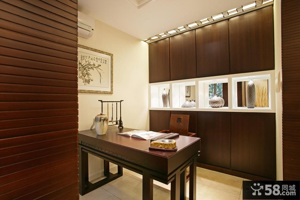 中式小书房装修效果图