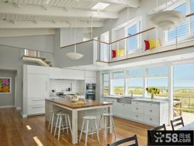优质阳台厨房装修效果图大全