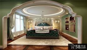 欧式复古卧室装修