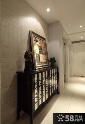 室内玄关装饰柜效果图片