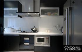 现代感设计厨房效果图