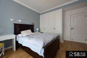美式复式家居卧室设计效果图片