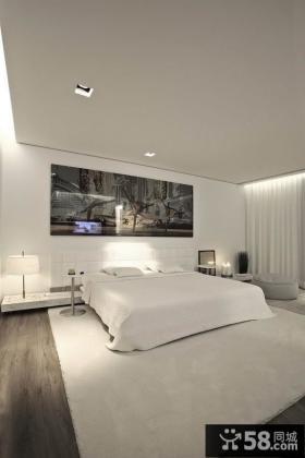 15万打造浪漫简约风格复式卧室装修效果图大全2014图片