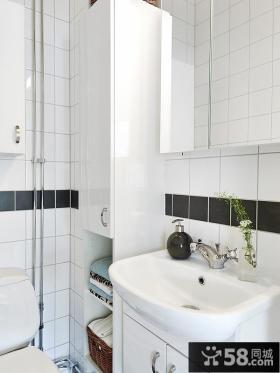 家装小卫生间瓷砖效果图片