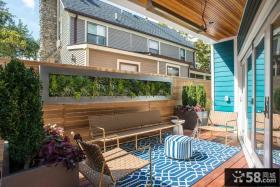 创意家装阳台装饰效果图