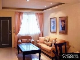 经典简约风格一居室设计效果图片