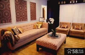 美式风格装修 美式乡村风格装修 客厅图片