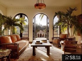 绝对经典的东南亚风格装修客厅图片