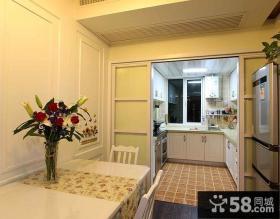 小户型厨房餐厅装修设计图片