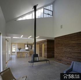 2012现代美式风格家居休闲区效果图