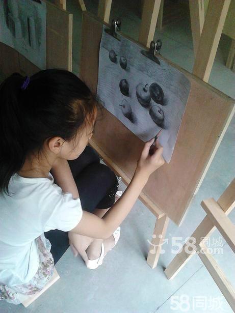 常州画画培训 新北寒假少儿幼儿水粉素描创意画