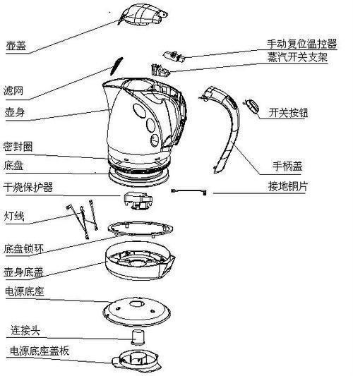 杭州电热水壶维修 美的