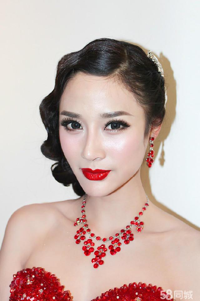 晚宴新娘妆发型分享展示
