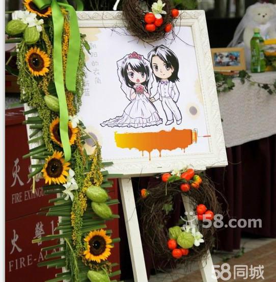 布置 鲜花/鲜花绢花暗场亮场户外婚礼现场布置策划