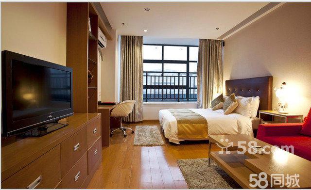 酒店双人卧室郊果图片