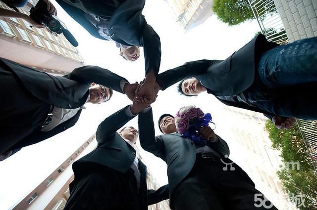 春天里婚礼跟拍 婚礼摄影 婚礼拍照 太原跟拍