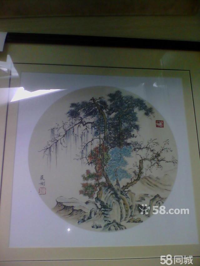 中国画装裱工艺的步骤与技法