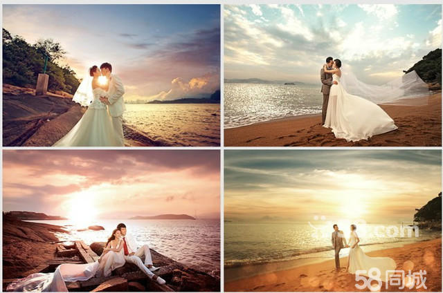 承接高端外景婚纱摄影,个人艺术摄影.