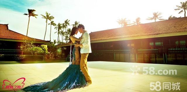 柔情巴厘岛婚纱摄影