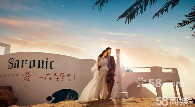 罗曼庭婚纱摄影--青岛圣罗尼克影视基地全新外景起航