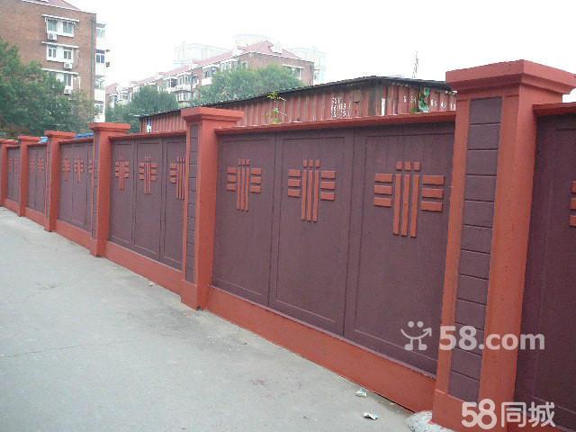 砖砌围墙标准图集内容|砖砌围墙标准图集版面设计