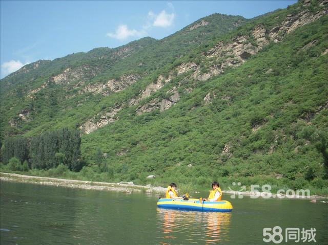 农村山水房风景图片