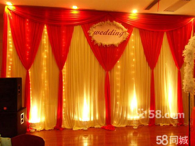 婚礼行程策划各一份  二,会场布置  6,个性舞台背景布置  欧式布艺