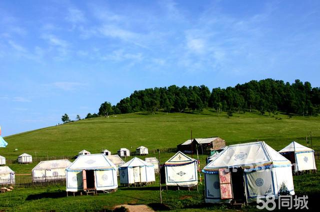 关山牧场小草原蒙古包骑马两日游图片